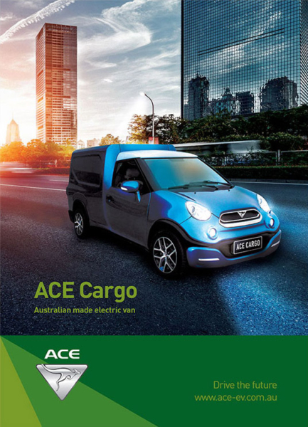 ACE Cargo electric van brochure